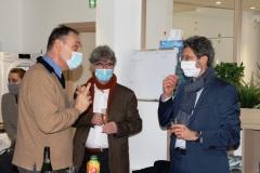 M LAPLANE, M Louis VALERIAN et M LARGHERO